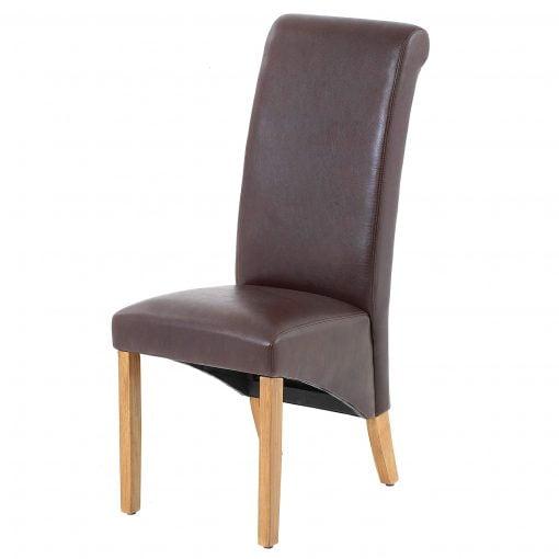 Jefferson Chair PU Brown