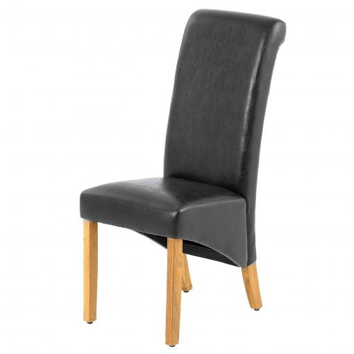 Jefferson Chair PU Black
