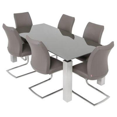 Terenzo Glass Top Table